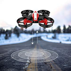 3-Holy Stone HS210 Mini Drone RC Nano Quadcopter Best Drone for Kids and Beginners