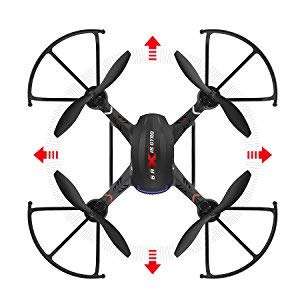 5-Holy Stone Drone with HD Camera F181C RC Quadcopter RTF 4 Channel 2.4GHz 6-Gyro