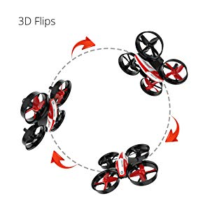 4-Holy Stone HS210 Mini Drone RC Nano Quadcopter Best Drone for Kids and Beginners