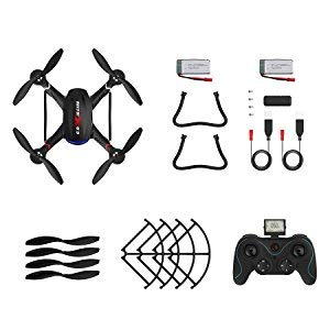 6-Holy Stone Drone with HD Camera F181C RC Quadcopter RTF 4 Channel 2.4GHz 6-Gyro