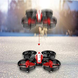 5-Holy Stone HS210 Mini Drone RC Nano Quadcopter Best Drone for Kids and Beginners