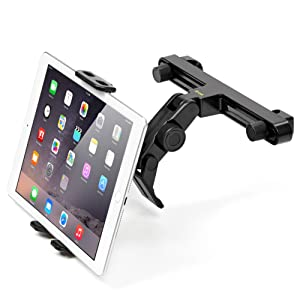 Tablet car mount ikross back seat headrest mount holder for apple hit the road with the ikross car headrest tablet mount holder the compact and convenient mounting solution designed to create a backseat entertainment greentooth Image collections