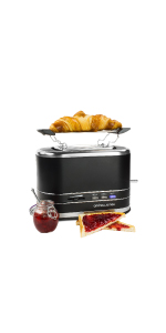 andrew james lumiglo 2 slice toaster