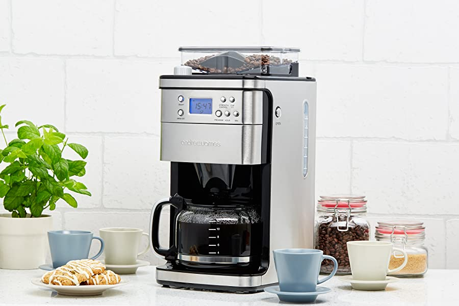 Bean To Cup Coffee Machine With Timer