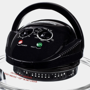 andrew james black halogen oven