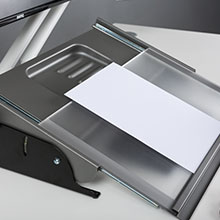 Large, Silver//Black MultiRite Document Holder and Writing Slope