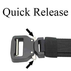 Military Tactical Riggers Belt, Heavy Duty Utility Waist
