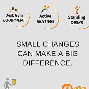 Office walking active setting standing desk gym equipment