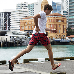 d48de812a6 MaaMgic Men's Swimming Trunks Quick Dry Fit Performance Surfing ...