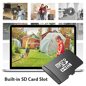 Built-in SD Card