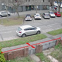 Cross line detection