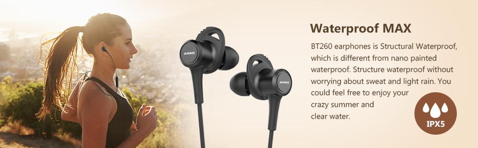 蓝牙耳机运行耳机麦克风运动防水IPX5