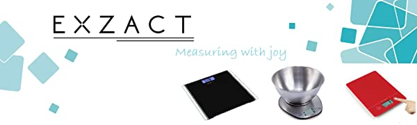 Exzact kitchen scales and bathroo scales