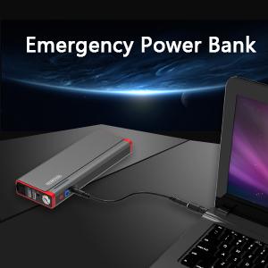 NTONPOWER Jump Starter Pack Battery Booster Emergency 800A 18000mAh Portable Jump Starter for Car Motorcycle Trucks Laptop Tablet Phone Power Bank Grey