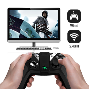 GameSir G4s Bluetooth Wireless Gaming Controller Joystick