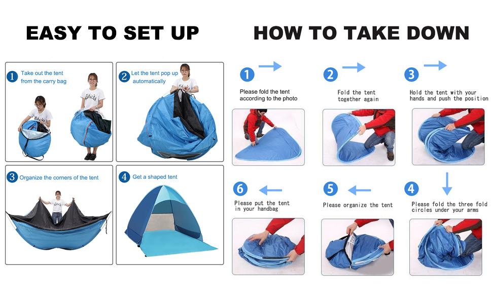 set down tent