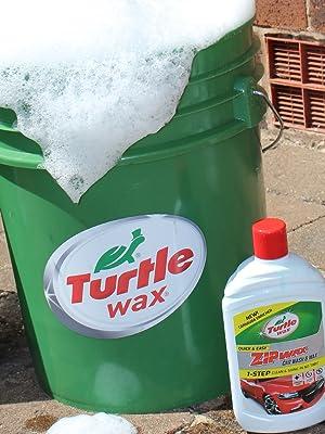 Turtle Wax 52824 Zip Wax Konzentriertes Autoshampoo Und Waschen 5l Auto
