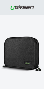cable organiser bag travel wire case