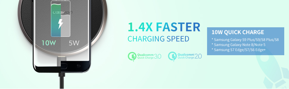 samsung fast wireless charging pad 10w