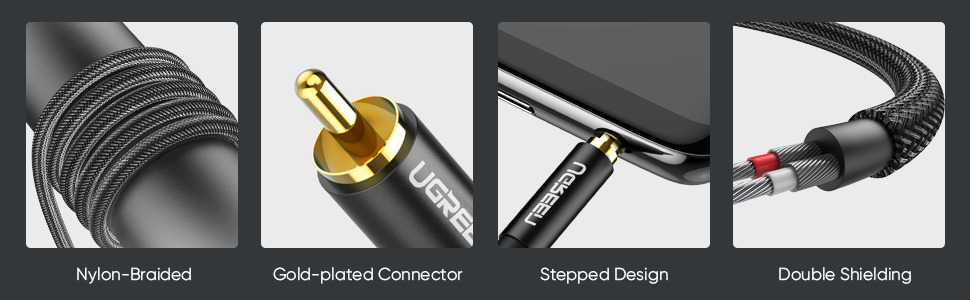 UGREEN RCA to 3.5mm Audio Cable