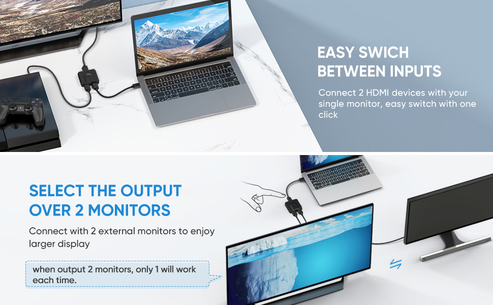 Multi-functional HDMI Switch