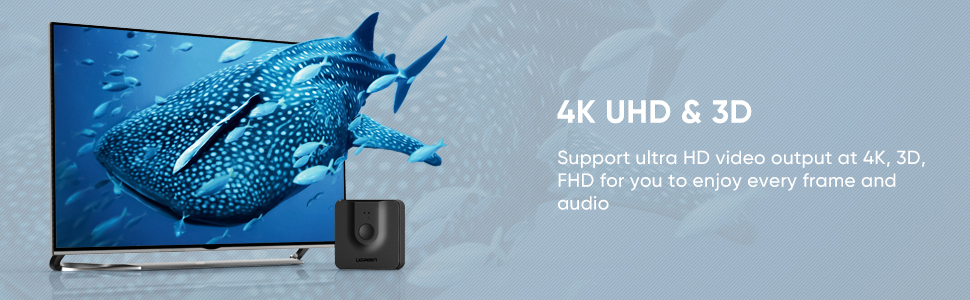 hdmi switch support 4K 3D