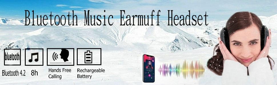 bluetooth earmuff headphones
