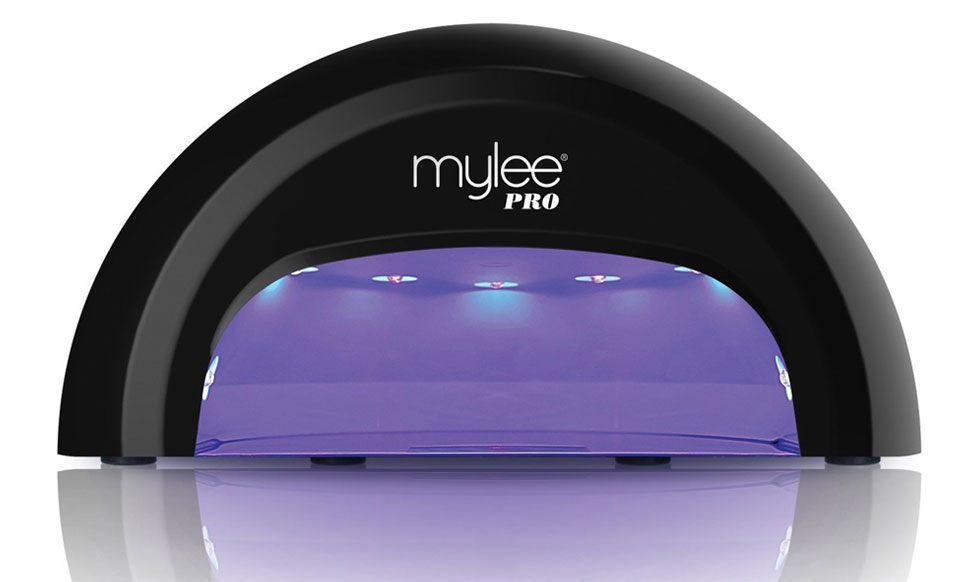 f6479a21bec Mylee PRO Salon Series LED 15-Second Convex Curing 5-Finger Nail ...