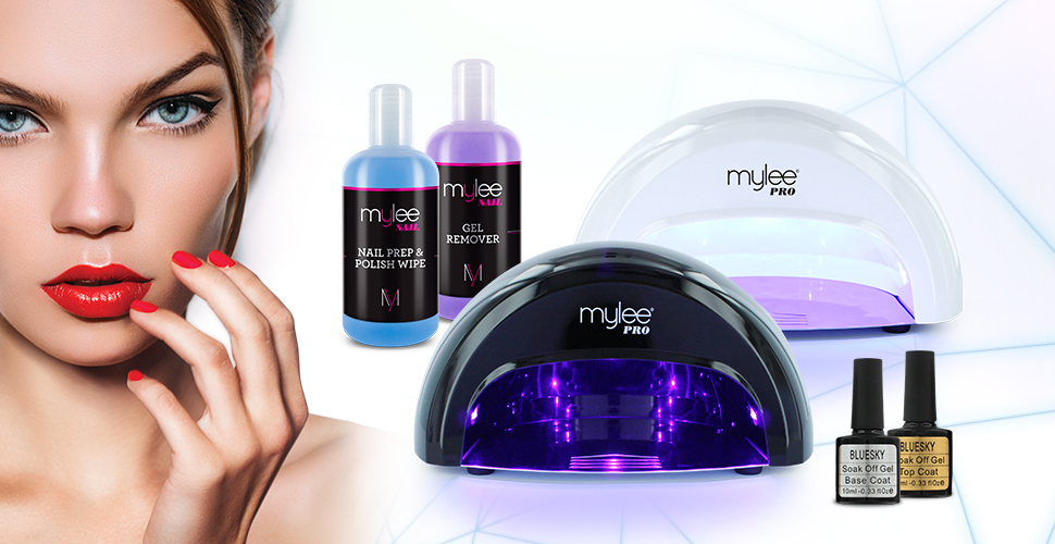 Mylee 15 Seconds Cure Convex Curing 174 Led Gel Polish Nail Drying Lamp Kit 3 Curing Cycle Preset