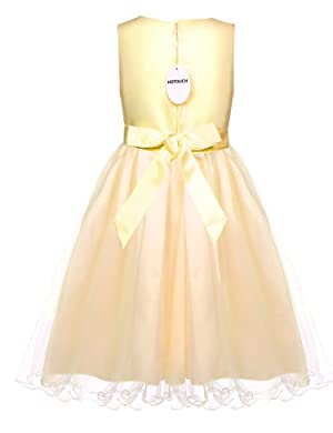 HOTOUCH Girls Sequined Wedding Dress for Bridesmaid Formal Party Gown 5-12T.  Brand: HOTOUCH Material: 100% Polyester Lining: Multi layer lining (Total 4  ...