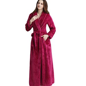Floor Length Fleece Dress