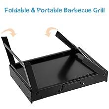 Folding & portable barbecue grill