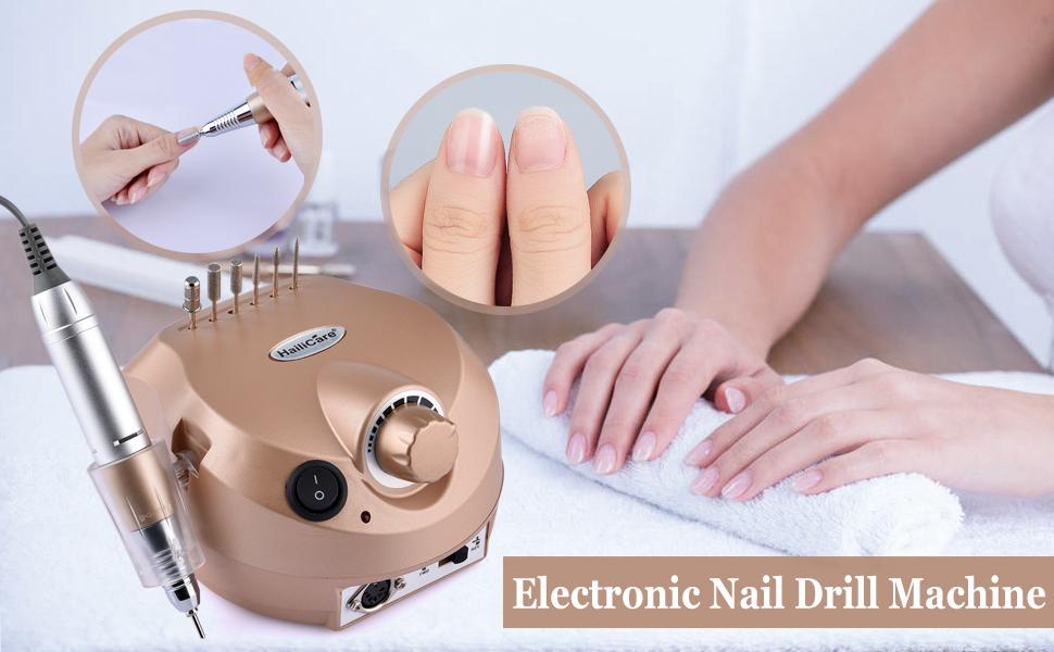 HailiCare 220V 30000RPM Professional Electric Nail Drill Machine ...