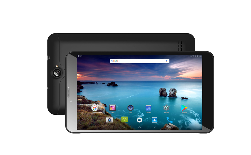 Time2: 8 inch Tablet PC, Android 7 0 Nougat, 3G Tablet Dual SIM Card,  Phablet unlocked, GMS Google Certified, HD IPS Screen, GPS, WiFi, up to  256GB SD