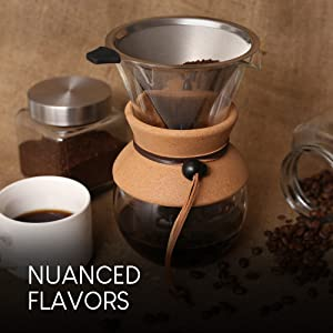 pour over hand dripper coffee brewer maker