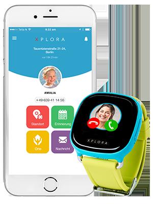 xplora 1 app deutsch german