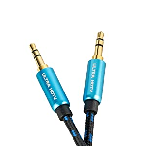 Ultra Hdtv Premium Aux Kabel 7 5 Meter Klinkenkabel Elektronik
