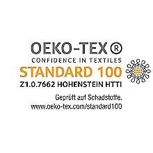Ökotex Öko-Tex 100 Hohenstein Institut getestet geprüft Ökotest