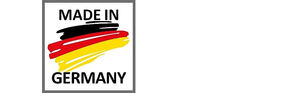 Fabriqué en Allemagne - Qualité européenne - Produit de marque de marque.