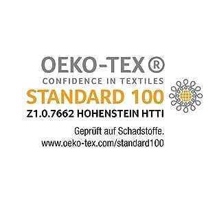 Certifié Öko-Tex Öko-Tex Öko-Tex Hohenstein Institut Stiftung Warentest - Certifié Öko-Tex 135 155.
