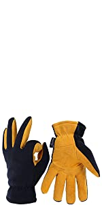 Damen OZERO Thermo HandschuheLeder Warme Winter Handschuhe zum Laufen1 Paar Handschuhe