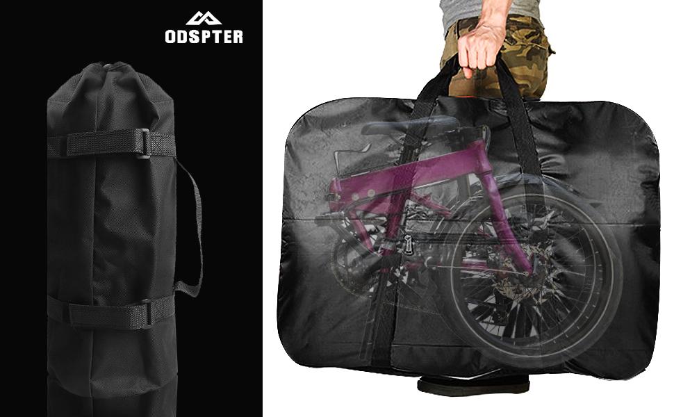 ODSPTER Fahrrad Transporttasche Klapprad Tasche Tragetasche