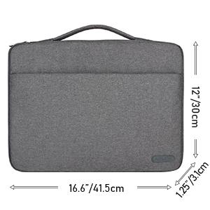 Arvok Stoßfestes Laptop Sleeve Hülle Tasche Aktentasche Computer Zubehör