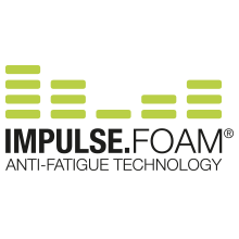 Impulse foam, anti-fatigue technology, endurance, impulse foam.