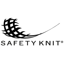 Safety knit, safety fabric, elastic, breathable.