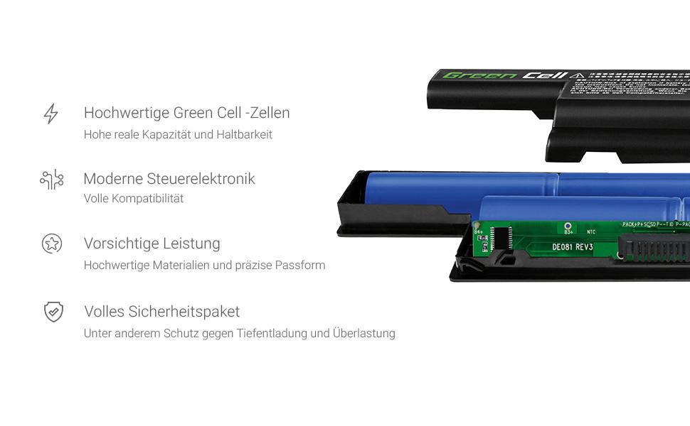 Green Cell Li-ion Zellen