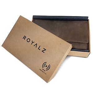 Portemonnaie Damen ROYALZ Geschenk Box Karton