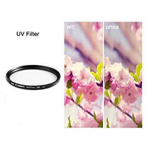 k f concept filter 49mm uv cpl fld nd2 nd4 nd8 nd 2 4 8 filtersetschutzfilter ebay. Black Bedroom Furniture Sets. Home Design Ideas