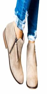 10041956cc37 Chelsea Boots Damen Stiefeletten Kurzschaft Blockabsatz Leder Wildleder mit  Absa · Chelsea Boots Damen Ankle Stiefeletten Kurzschaft Wildleder Leder  mit ...