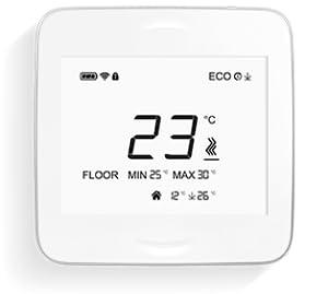 AirPatrol RoomUnit Smart Wandthermostat ohne InfraRot BodenF/ühler Funktioniert mit AirPatrol SmartHeat ControlUnit. iOS und Android apps